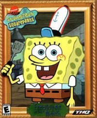 employee of the month, spongebob framed