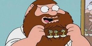 peter griffin birds beard