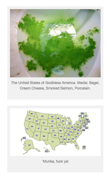 green poop map of america